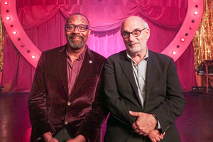 Imagine... Lenny Henry. Image shows from L to R: Lenny Henry, Alan Yentob.