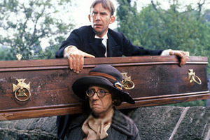 In Loving Memory. Image shows from L to R: Billy Henshaw (Christopher Beeny), Ivy Unsworth (Thora Hird). Copyright: Rex.