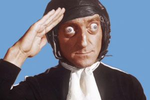 It's Marty. Marty Feldman.