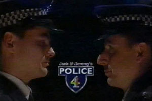 Jack & Jeremy's Police 4. Image shows from L to R: Jack (Jack Dee), Jeremy (Jeremy Hardy). Copyright: Open Mike Productions.