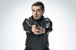 Johnny English Strikes Again. Johnny English (Rowan Atkinson). Copyright: Working Title Films.