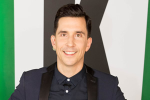 The Kaneing Live. Russell Kane. Copyright: Marc Bates.