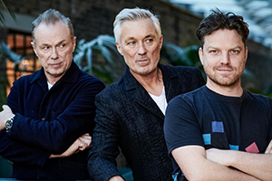 The Kemps: All True. Image shows from L to R: Gary (Gary Kemp), Martin (Martin Kemp), Rhys Thomas.