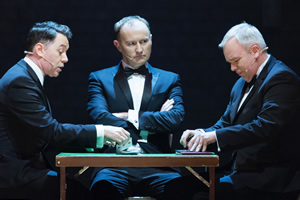 The League Of Gentlemen - Live Again!. Image shows from L to R: Reece Shearsmith, Mark Gatiss, Steve Pemberton.