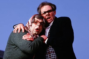The League Of Gentlemen. Image shows from L to R: Tubbs (Steve Pemberton), Edward (Reece Shearsmith). Copyright: BBC.
