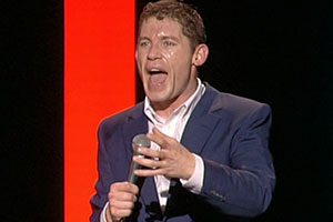 Lee Evans: Wired And Wonderful - Live At Wembley. Lee Evans. Copyright: Little Mo Films.