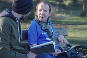 Lee Ridley: Voice Of The People. Lee Ridley. Copyright: Rumpus Media.