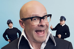 Life On Egg. Image shows from L to R: Ann (Karen Bartke), Harry (Harry Hill), Peter (Marek Larwood). Copyright: BBC.