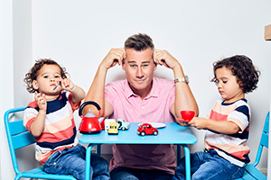 Tim Vincent talks about The Likely Dads