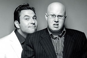 Little Britain. Image shows from L to R: David Walliams, Matt Lucas. Copyright: BBC.