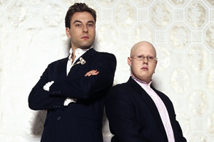 Little Britain. Image shows from L to R: David Walliams, Matt Lucas.