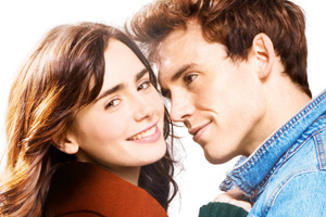 Love, Rosie. Image shows from L to R: Rosie Dunne (Lily Collins), Alex Stewart (Sam Claflin). Copyright: Constantin Film.