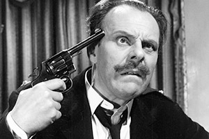 Make Mine Mink. Major Rayne (Terry-Thomas).