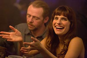 Man Up. Image shows from L to R: Jack (Simon Pegg), Nancy (Lake Bell). Copyright: Big Talk Productions.
