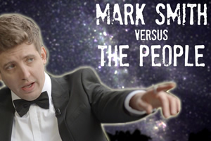 Mark Smith Versus The People. Mark Smith. Copyright: Turtle Canyon Comedy.