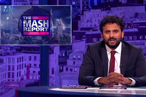 The Mash Report. Nish Kumar. Copyright: Princess Productions.