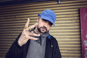 MC Grindah's Deadliest Dupes. Grindah (Allan Mustafa).
