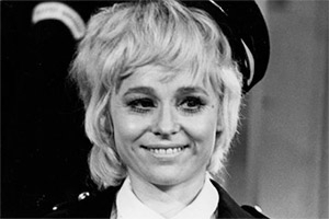 Meter Maids. Polly (Barbara Windsor). Copyright: BBC.