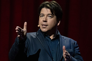 Michael McIntyre: Showman - Changing passwords