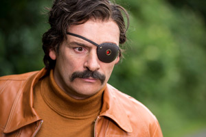 Mindhorn. Richard 'Mindhorn' Thorncroft (Julian Barratt). Copyright: BBC Films.