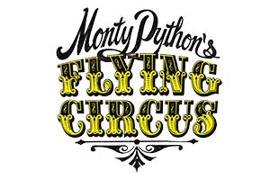 Monty Python's Flying Circus logo. Copyright: Python (Monty) Pictures Ltd.