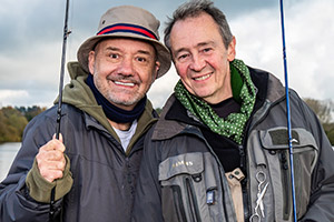 Mortimer & Whitehouse launch Gone Fishing website