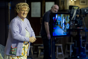 Mrs. Brown's Boys. Agnes Brown (Brendan O'Carroll). Copyright: BBC.