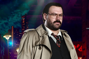 Murder In Successville. DI Sleet (Tom Davis). Copyright: Tiger Aspect Productions.