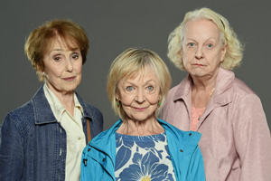 Murder On The Blackpool Express. Image shows from L to R: Peggy (Una Stubbs), Mildred (Sheila Reid), Marge (Susie Blake).