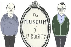 The Museum Of Curiosity. Image shows from L to R: John Lloyd, Sean Lock. Copyright: BBC.