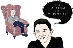 The Museum Of Curiosity. Image shows from L to R: John Lloyd, Jon Richardson. Copyright: BBC.