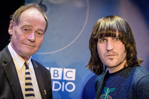 The Museum Of Curiosity. Image shows from L to R: John Lloyd, Noel Fielding. Copyright: BBC.