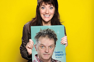 My Obsession. Image shows from L to R: Fan (Suki Webster), Danny Heywood (Paul Merton).