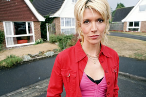 Nighty Night. Jill Tyrell (Julia Davis). Copyright: Baby Cow Productions.