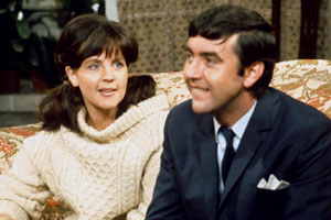 No - Honestly. Image shows from L to R: Clara (Pauline Collins), Charles Danby (C.D.) (John Alderton). Copyright: London Weekend Television.