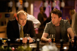 Not Going Out. Image shows from L to R: Tim (Tim Vine), Lee (Lee Mack).