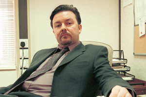 The Office. David Brent (Ricky Gervais).