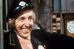On The Buses. Jack Harper (Bob Grant). Copyright: London Weekend Television.