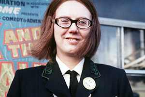 On The Buses. Olive (Anna Karen). Copyright: London Weekend Television.