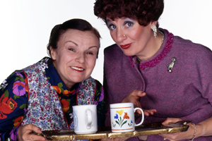 Our Friend Victoria. Image shows from L to R: Julie Walters, Victoria Wood. Copyright: Phil McIntyre Entertainment.