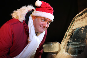 Pappy's Christmas. Dara O Briain. Copyright: Baby Cow Productions.