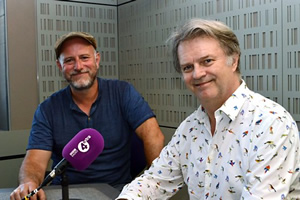 Image shows from L to R: Paul Garner, Paul Merton. Copyright: BBC.