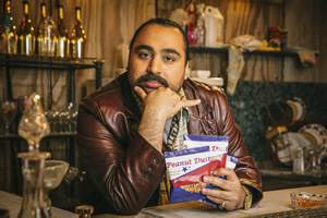 People Just Do Nothing. Chabuddy G (Asim Chaudhry). Copyright: Roughcut Television.