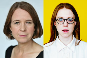 Vicki Pepperdine & Ellie White's Summer. Image shows from L to R: Alison (Vicki Pepperdine), Anne (Ellie White).