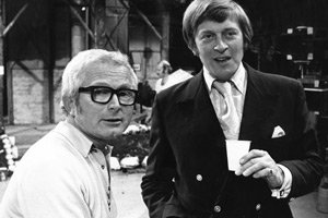 Perry & Croft: The Sitcoms. Image shows from L to R: David Croft, Jimmy Perry. Copyright: BBC.