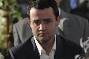 Plus One. Rob Black (Daniel Mays). Copyright: Kudos Productions.