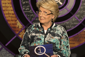 Sandi Toksvig hosts QI