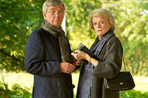 Quartet. Image shows from L to R: Reginald Paget (Tom Courtenay), Jean Horton (Maggie Smith).