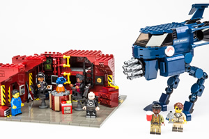 Red Dwarf Lego set