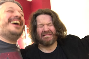 Image shows from L to R: Richard Herring, Ian Boldsworth.